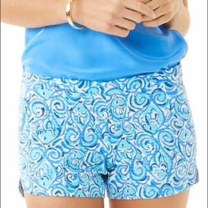 Lilly Pulitzer Adie Resort Chasing Tail Shorts